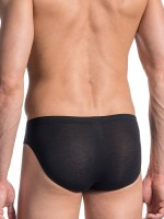 Olaf Benz RED1665: Sportbrief, schwarz