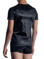 MANSTORE M2052: Casual T-Shirt, schwarz